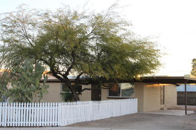 Tucson AZ Single Family Home For Sale: $135,000