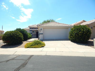 Green Valley AZ Single Family Home For Sale: $190,000