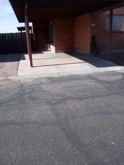 Tucson Townhouse For Sale: 3873 N Pasatiempo Place