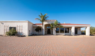 Tucson Single Family Home For Sale: 2790 W Desert Shadows Place