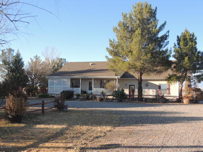 Willcox Single Family Home For Sale: 8255 Fort Grant Road