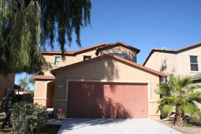 Pima County, Pinal County Single Family Home Active Contingent: 444 W Great White Street