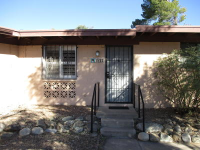 Tucson Townhouse For Sale: 1522 W Knox Street