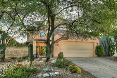 Tucson Single Family Home Active Contingent: 3162 N Placita Agua Caliente