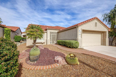 Oro Valley Single Family Home Active Contingent: 2229 E Sausalito Trail