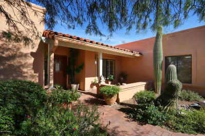 Tucson Single Family Home For Sale: 5165 N Pontatoc Road