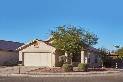 Tucson Single Family Home Active Contingent: 2202 W Silverbell Oasis Way
