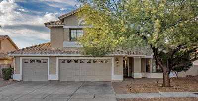 Oro Valley Single Family Home Active Contingent: 12511 N Granville Canyon Way
