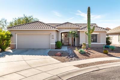 Tucson Single Family Home Active Contingent: 7589 W Copper Crest Place