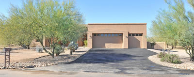 Tucson Single Family Home Active Contingent: 8537 N Fountain Grass Avenue