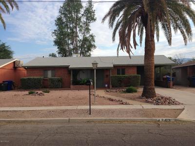 Tucson Rental For Rent: 4743 E Fairmount Street