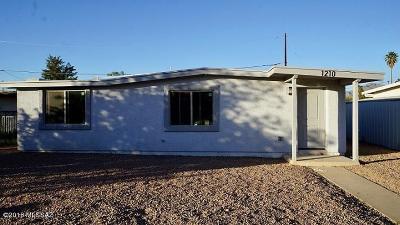 Tucson Single Family Home Active Contingent: 1210 W La Pasadita Place