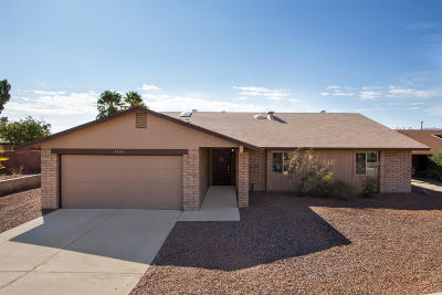 Tucson Single Family Home For Sale: 3161 W Green Ridge Drive