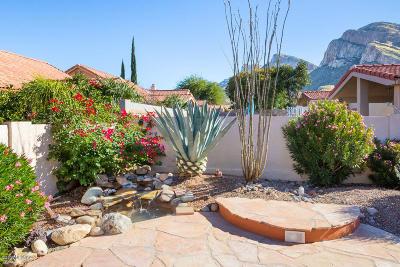 Tucson Single Family Home Active Contingent: 221 E Highcourte Lane