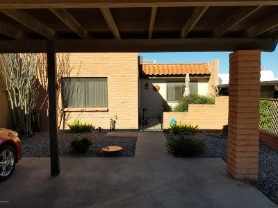 Pima County Townhouse For Sale: 348 W Camino Del Sonador