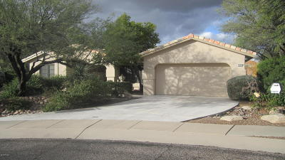 Oro Valley Single Family Home For Sale: 14071 N Desert Butte Drive