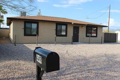 Tucson Single Family Home Active Contingent: 449 E Lester Street