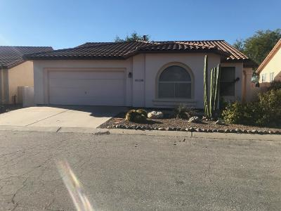 Pima County Single Family Home Active Contingent: 9941 N High Meadow Trail