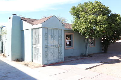 Tucson Single Family Home Active Contingent: 3544 S Lundy Avenue