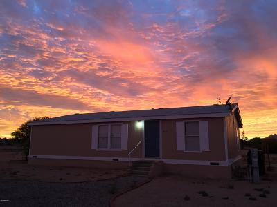 Pima County Manufactured Home For Sale: 16605 W Spur Bell Lane