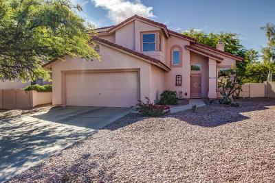 Tucson Single Family Home Active Contingent: 9915 N Meadow Ranch Place