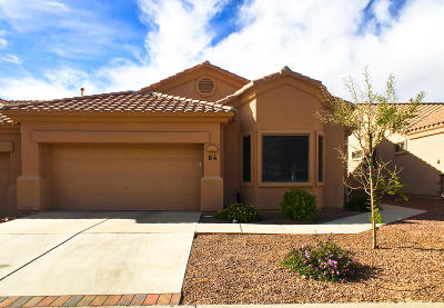 Oro Valley Townhouse For Sale: 13401 N Rancho Vistoso Boulevard #84