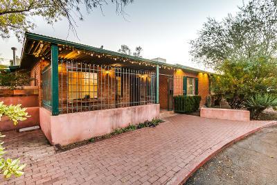 Tucson Single Family Home For Sale: 2844 E 9th Street