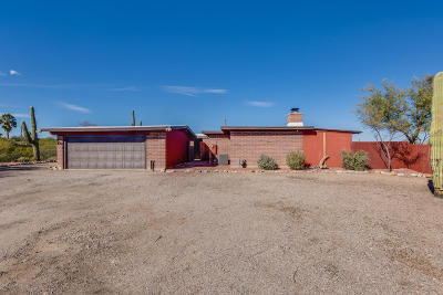 Tucson Single Family Home For Sale: 5266 W Paseo De Las Colinas
