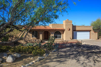 Tucson Single Family Home Active Contingent: 3818 E Marble Peak Place