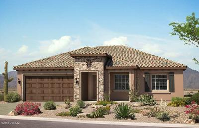 Marana Single Family Home For Sale: 13898 N Rim Trail N