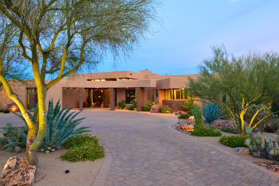 Pima County, Pinal County Single Family Home Active Contingent: 14588 N Quiet Rain Drive