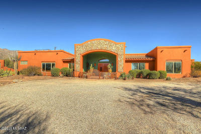 Pima County Single Family Home For Sale: 12407 E Studio Way