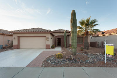 Tucson Single Family Home Active Contingent: 7667 W Alamosa Place