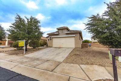 Marana Single Family Home Active Contingent: 12502 N Cottonseed Lane