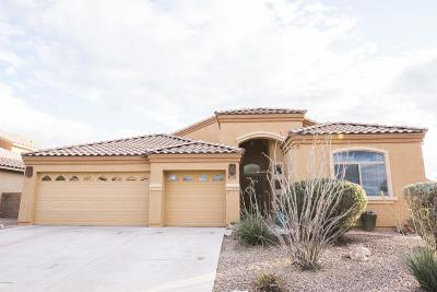 Pima County Single Family Home Active Contingent: 5204 E Agave Vista Drive