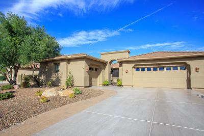 Tucson Single Family Home Active Contingent: 61648 E Ironwood Lane