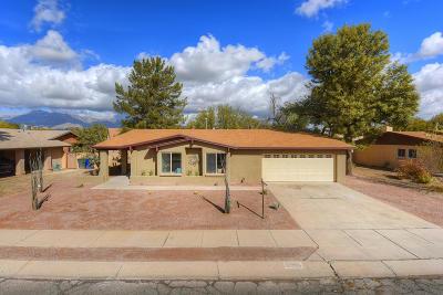 Pima County, Pinal County Single Family Home For Sale: 7521 E La Cienega Drive