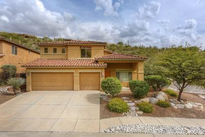 Tucson Single Family Home For Sale: 4172 N Sunset Cliff Drive