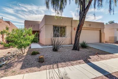 Tucson Single Family Home Active Contingent: 7450 E Calle Infinito