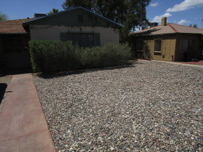 Tucson Single Family Home For Sale: 1628 E Waverly Street