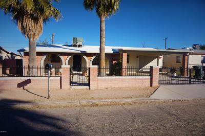 Pima County Single Family Home Active Contingent: 158 W Borrego Street