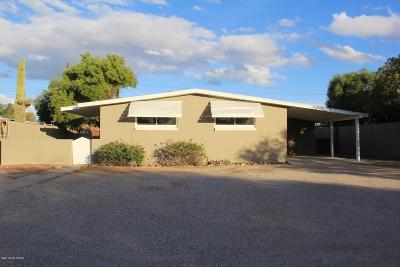 Pima County Single Family Home For Sale: 2710 N Winstel Boulevard