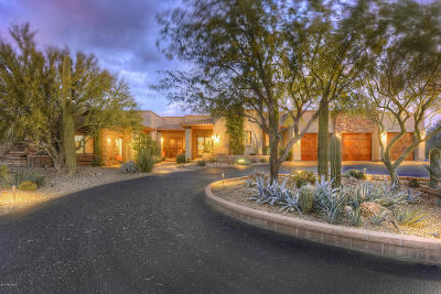 Pima County Single Family Home For Sale: 11400 N Coyote Blue Court