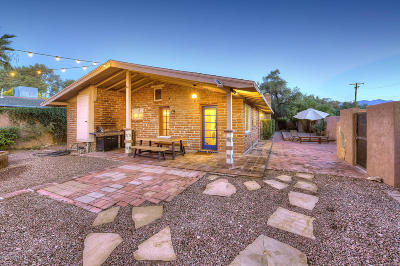Tucson Single Family Home For Sale: 2346 E Adams Street