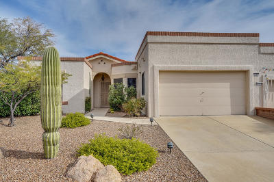 Pima County Townhouse For Sale: 14456 N Spanish Garden Lane