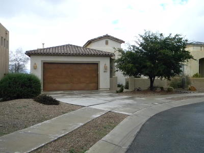 Marana Single Family Home For Sale: 4481 W Crystal Ranch Place