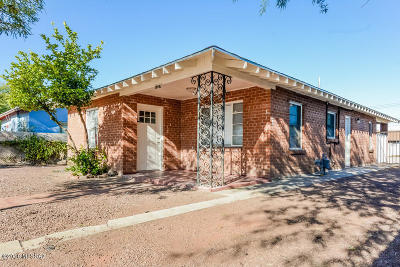 Tucson Single Family Home For Sale: 1227 W Congress Street