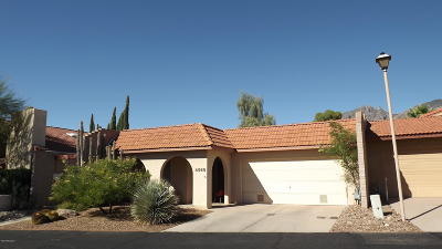 Tucson Townhouse For Sale: 4569 E Camino Rosa