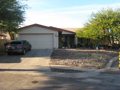 Tucson Single Family Home For Sale: 5730 S Hillerman Drive