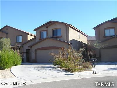Pima County Single Family Home Active Contingent: 8268 N Converse Court